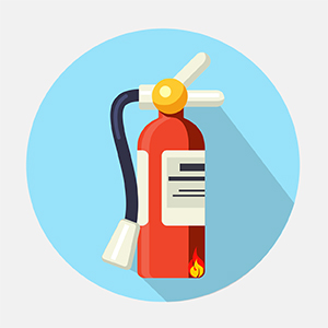 fire extinguisher image