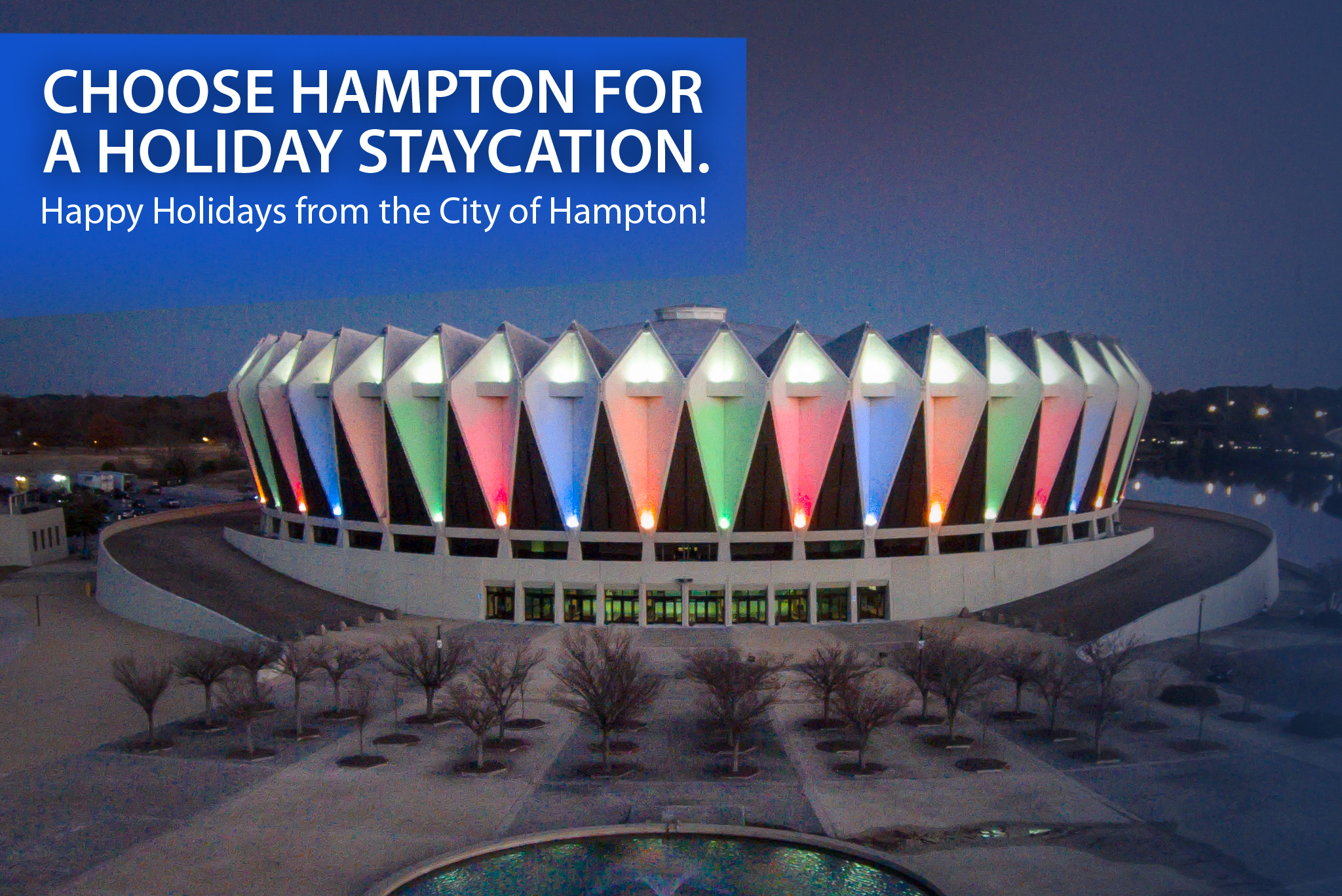 Happy Holidays from the City of Hampton