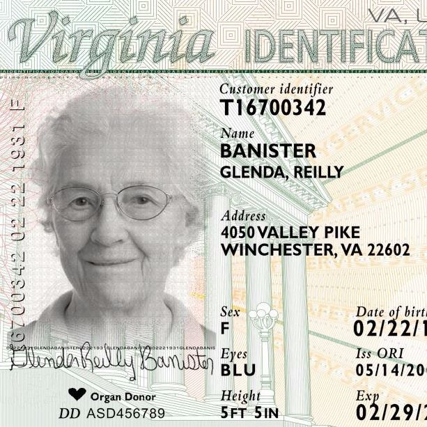 virginia id card
