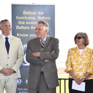 Officials announce hurricane plan