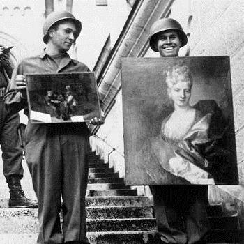 SQUARE monuments-men-recovered-artworks
