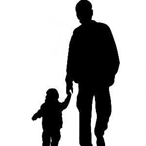 father-and-child-silhouette