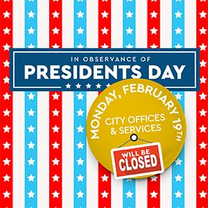 Presidents Day newsflash 2018