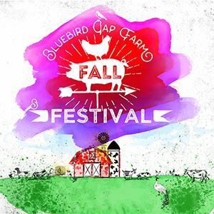 Bluebird Gap Farm Fall Festival logo without year