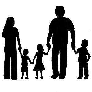 family silhouette 2013