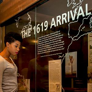 1619: Arrival of the First Africans exhbit