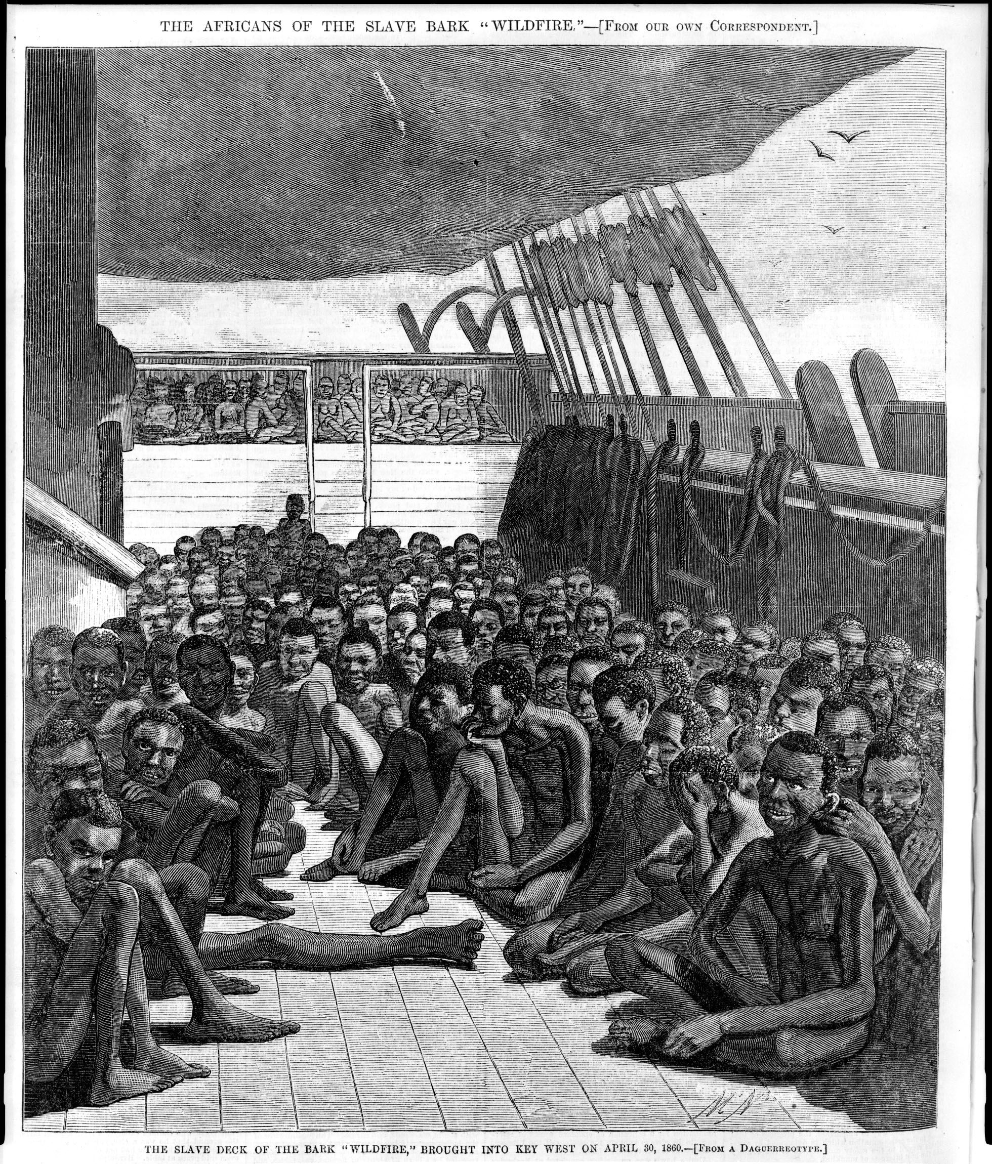 2 Top Deck of French Slave Ship