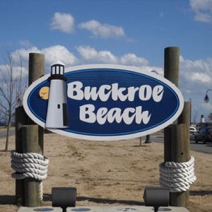 buckroe beach sign