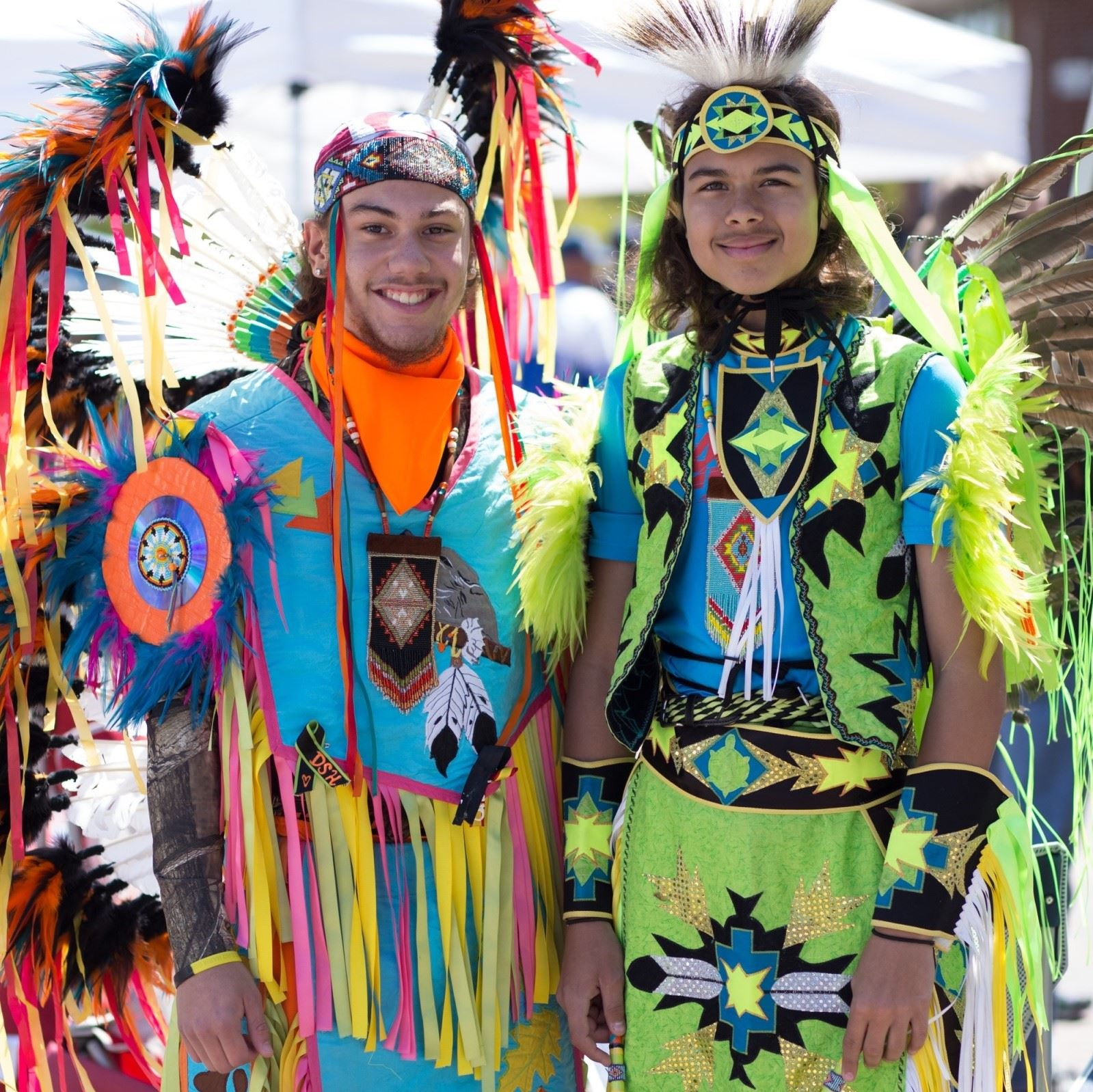 SQUARE HHM Pair of Chickahominy Dancers