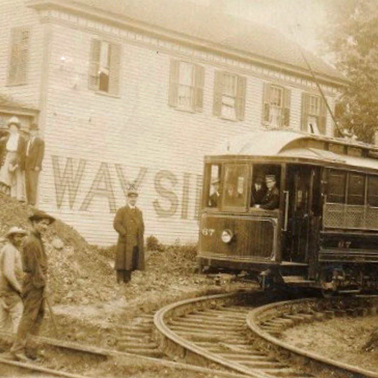 SQUARE Streetcar in Phoebus 1916