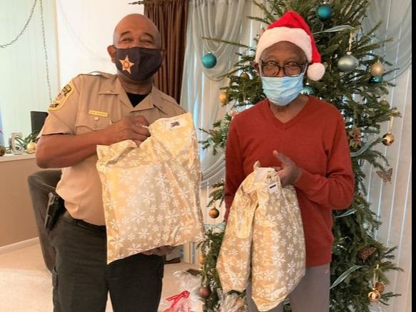 Sheriff Office Provides Gifts of Thanks to Seniors - Adopt-A-Senior Program
