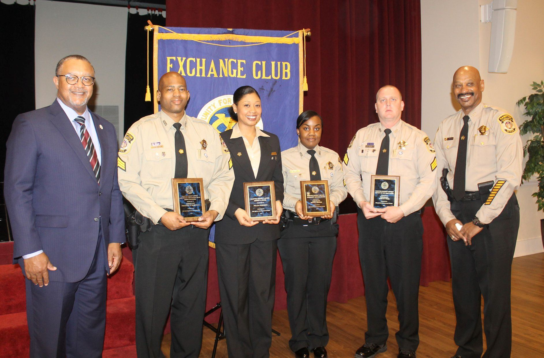 2017 Exchange club award winners