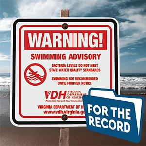 For The Record Swimming Advisory