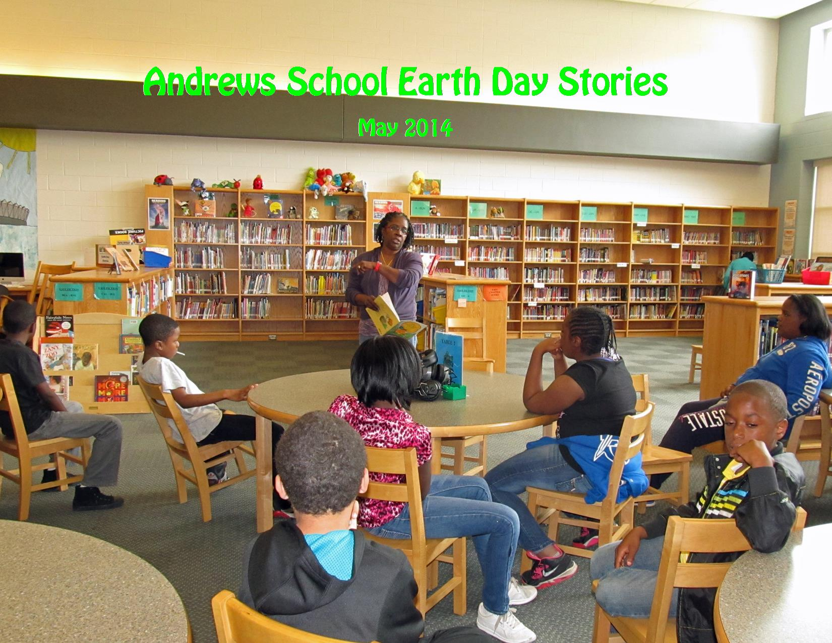 5-2014 Andrews Earth Day Stories Gwen