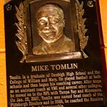 Mike Tomlin Bronze Plaque