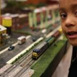 boy and train