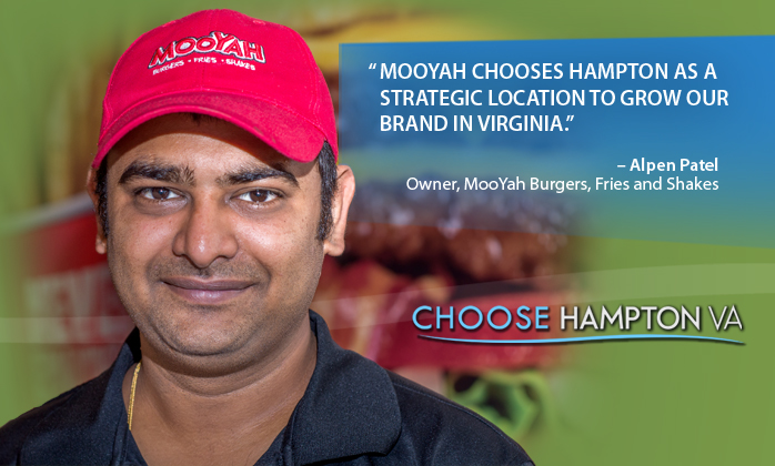 Mooyah chooses Hampton