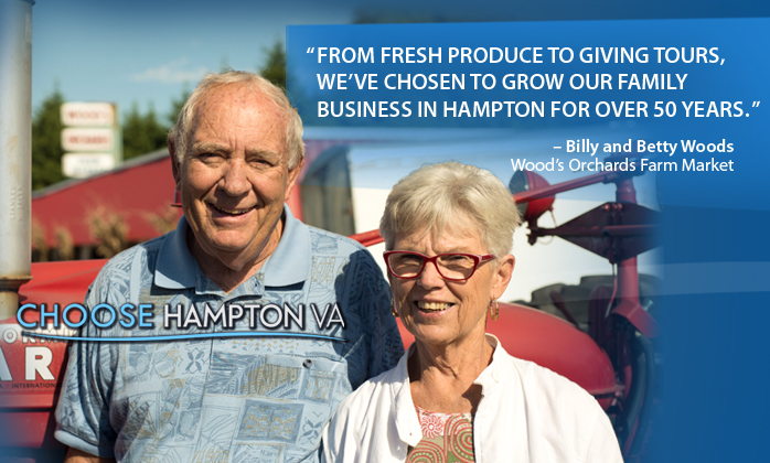 Wood's Orchards Choose Hampton