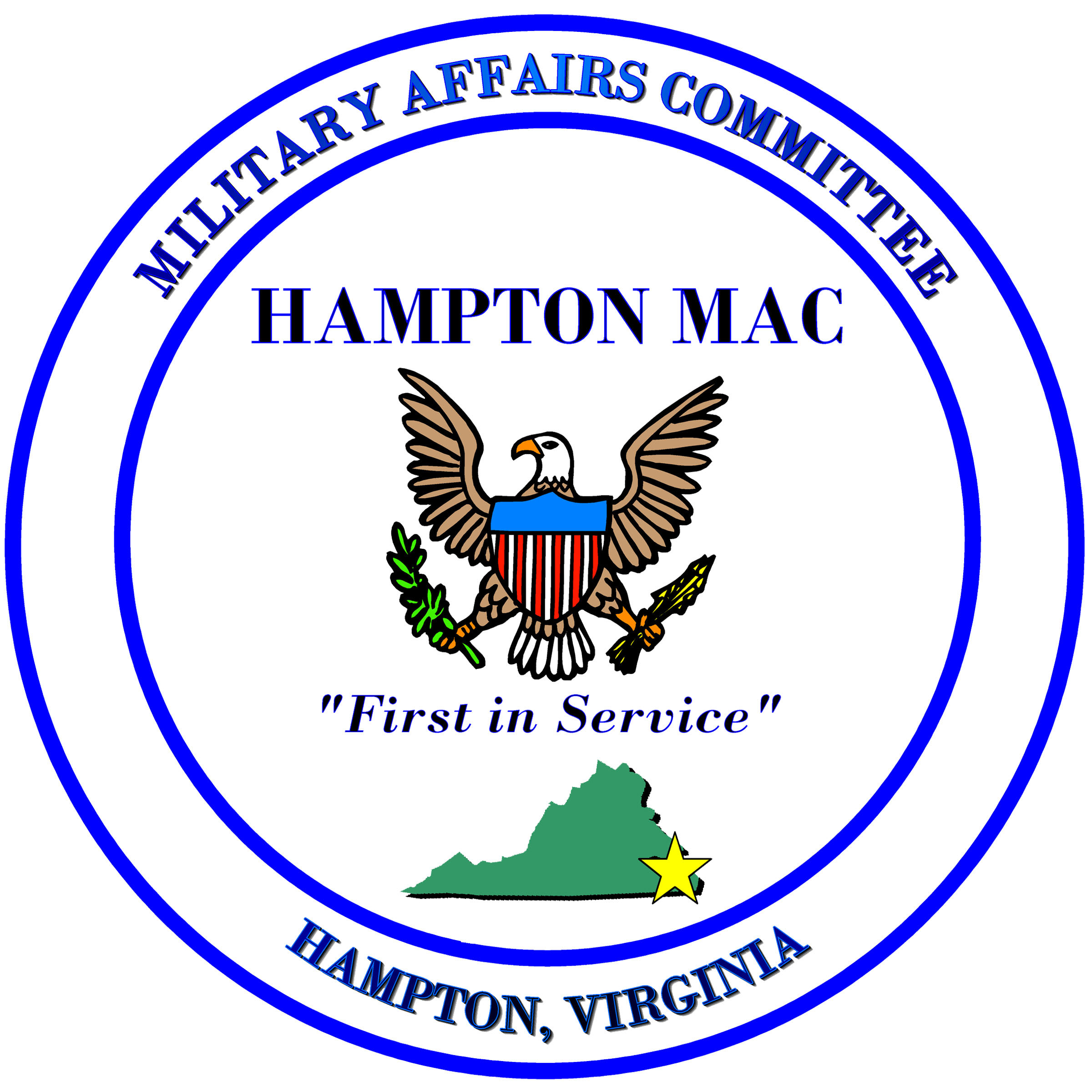 Hampton Military Affairs Committee Logo