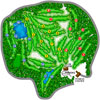 Golf Course Overview Map
