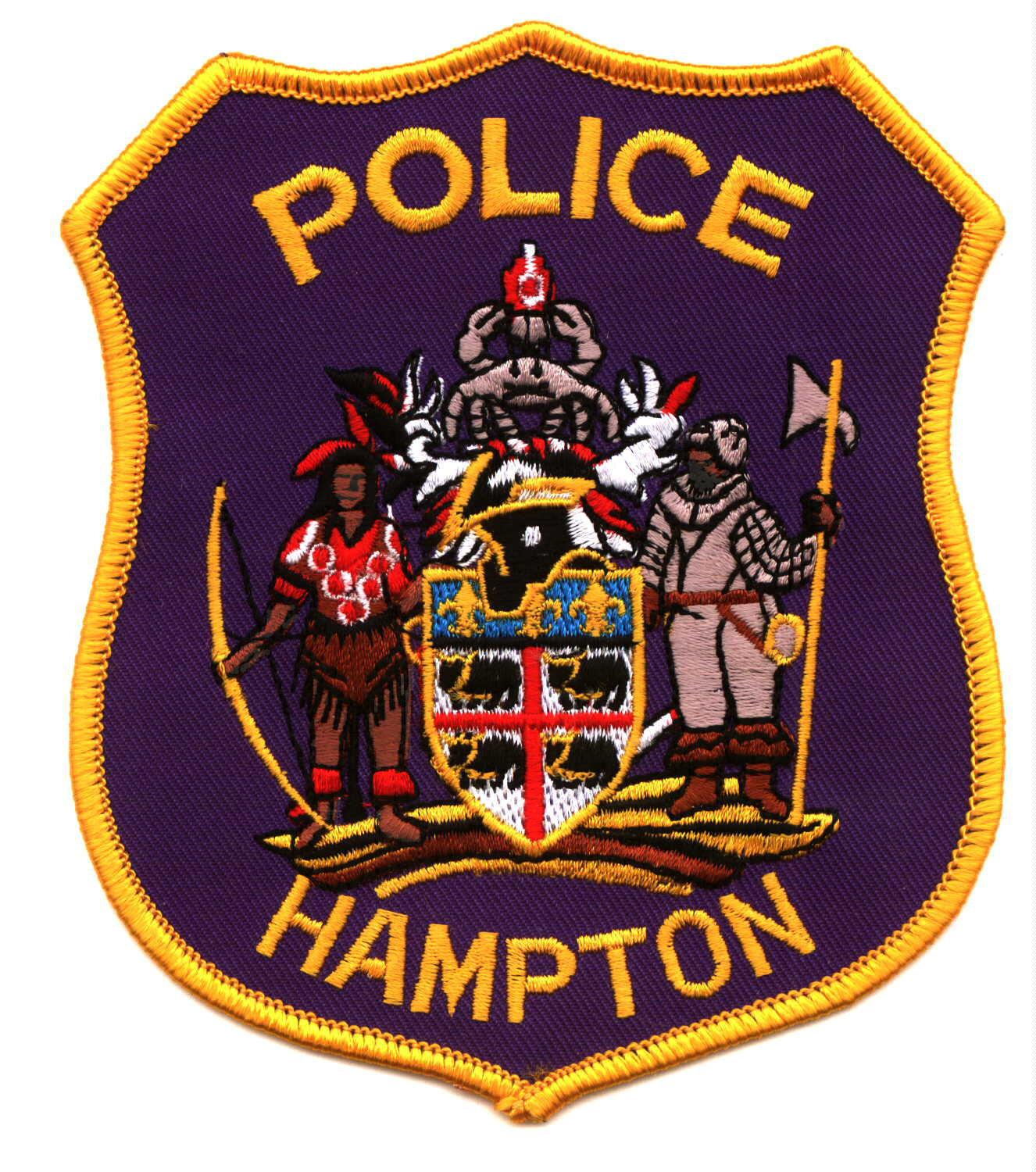 Hamptom Police Patch